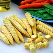 Sweetcorn F1 Minipop Min 75 seeds - Vegetables