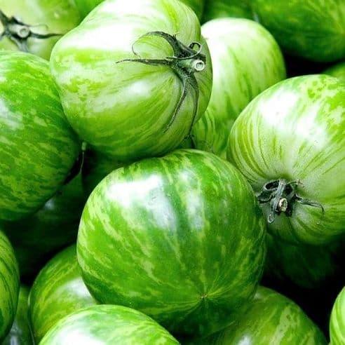 Tomato - Green Zebra - Indeterminate heritage type - 20 seeds