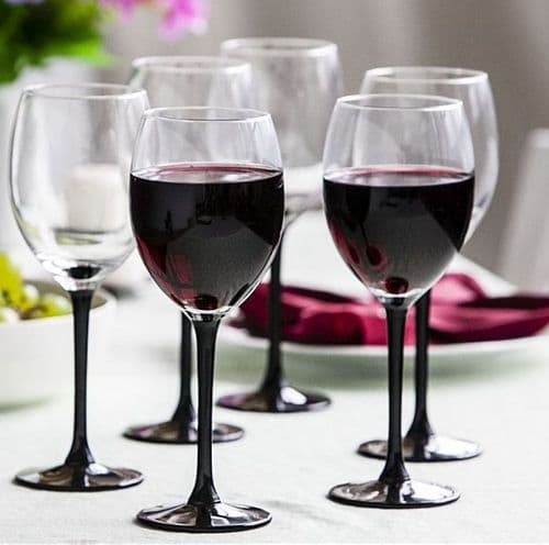6 Wine Glasses 330ml Canada