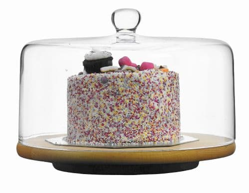 Cake Dome 29.5 cm Roma- Solavia Glassware Home Accessories