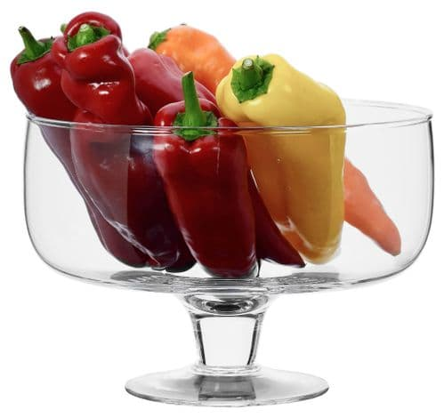Footed Fruit Bowl 23cm