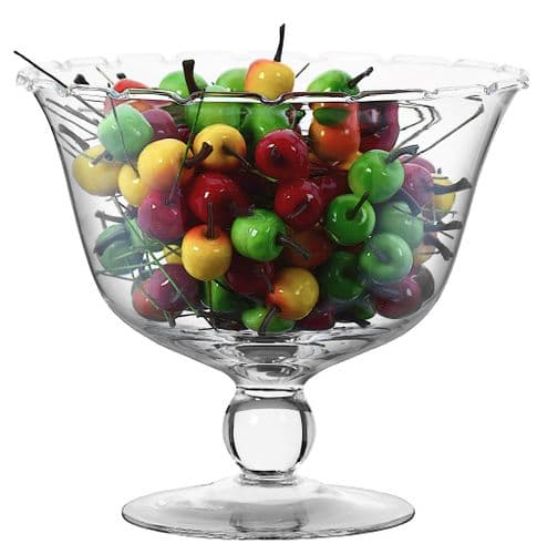 Footed Fruit Trifle Bowl 19cm