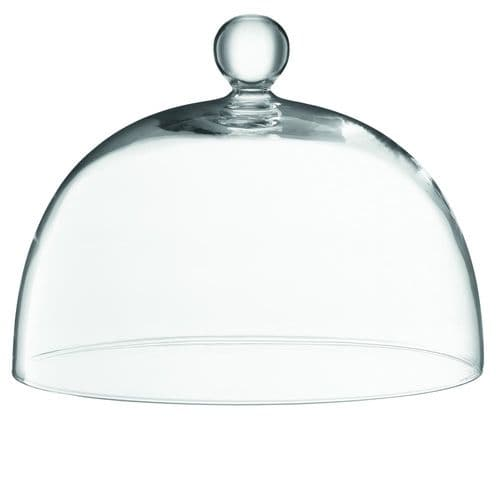 Glass Bell Jar Dome 28cm