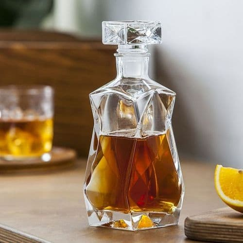 Glass Decanter 375ml Curvy