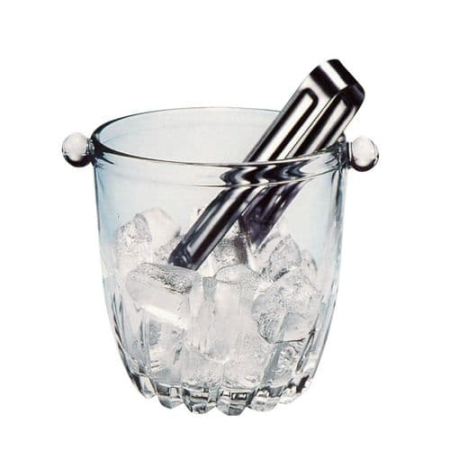 Ice Bucket & Tongs Lisa 750ml