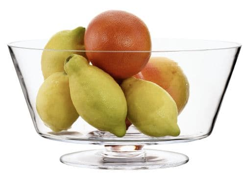 Large Taper Fruit Bowl 32cm, Solavia Glassware Kitchen Accessories