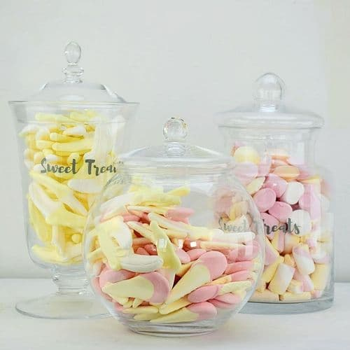 Set of 3 Large Jars