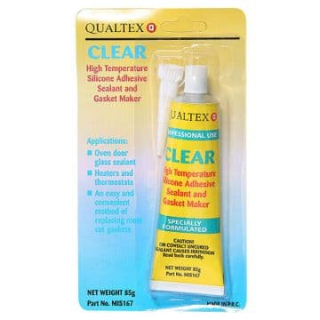 METAL & GLASS EXCELLENT ADHESIVE HIGH TEMP SILICONE CLEAR GLUE SEALANT