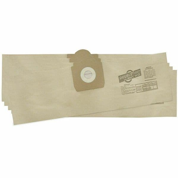 TITAN TTB784VAC WET & DRY VACUUM CLEANER DUST PAPER BAGS 5 PACK