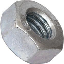 100 X M5 Hexagon Nuts Steel