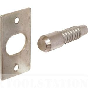 2 X  Door Security  Hinge Bolts(dog Bolts)