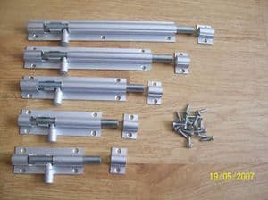 Aluminium Barrel Door Cupboard Bolts Locks