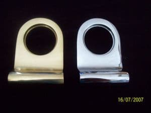 Brass Chrome Cylinder Pull For Yale Type Door Locks