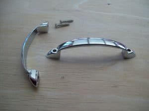 Cabinet Door  Drawer  Cupboard Pull Handle Chrome Finish