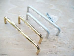 wardrobe cupboard cabinet drawer kitchen door d pull handles