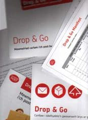 'DROP & GO' (WELSH) COMPLETE PAMPHLET AND PAPERWORK