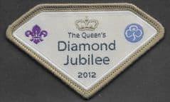 'THE QUEENS DIAMOND JUBILEE 2012' BADGE