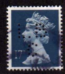 17P 'DEEP BLUE' (L.B.C) FINE USED