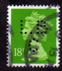 18P 'BRIGHT GREEN' (L.B.C) FINE USED