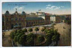 1920 MAINZ  RAIL STATION.BELGUIM COMMISION