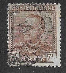 1928 7.5c 'BROWN ' FINE USED*