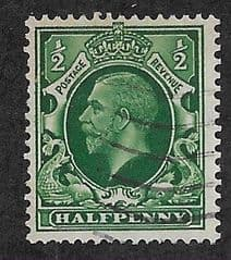 1934  0.5d 'GREEN' FINE USED