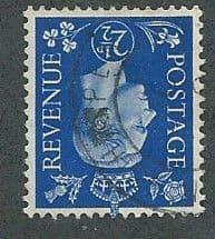 1937 2.5d 'ULTRAMARINE' ( WATERMARK INVERTED) FINE USED