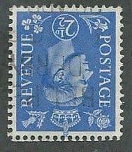 1941 2.5d 'LIGHT ULTRAMARINE' ( WATERMARK INVERTED) FINE USED