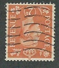 1941 2d 'PALE ORANGE' ( WATERMARK INVERTED) FINE USED