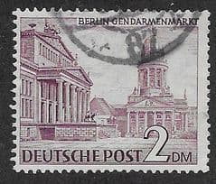 1949 2DM 'BERLIN GENDARMENMARKT' FINE USED *