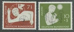 1953 U/M SET 'CHILDRENS CHARITY STAMPS (2v) *
