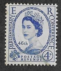 1957 4d 'PARLIAMENTARY CONFERENCE' FINE USED
