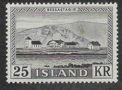 1957 U/M 25KR 'PRESIDENTIAL RESIDENCE' *