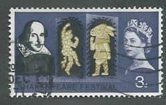 1964 3d 'SHAKESPEARE FESTIVAL'(ORD)  FINE USED