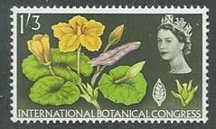 1964 U/M 1/3d 'INTERNATIONAL BOTANCIAL CONGRESS'  (ORDINARY)
