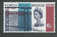 1964 U/M 6d 'FORTH ROAD BRIDGE' (ORDINARY)