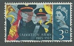 1965 3d SALVATION ARMY' FINE USED