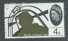 1965 4d 'BATTLE OF BRITAIN'(ORD)  FINE USED