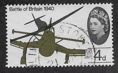1965 4d 'BATTLE OF BRITAIN'  (ORD) FINE USED