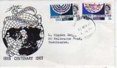1965 INT TELECOMMUNICATIONS 'ORDINARY' FDC