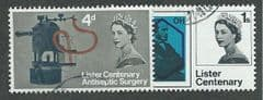 1965 SET ' LISTER CENTENARY' (ORD)(2v) FINE USED