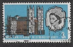 1966 3d '900TH ANN OF WESTMINSTER ABBEY' FINE USED