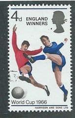 1966 4d 'ENGLAND WINNERS' FINE USED