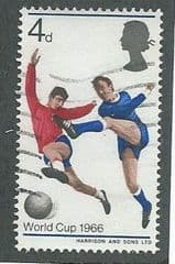 1966 4d 'WORLD CUP'  FINE USED