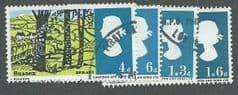 1966 SET 'LANDSCAPES' ( ORDINARY) (4v) FINE USED