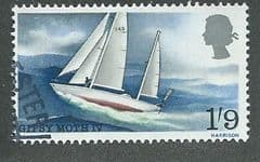 1967 1/-9d 'SIR FRANCIS CHICHESTERS WORLD VOYAGE ' FINE USED