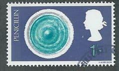1967 1/- 'BRITISH INVENTIONS ' FINE USED