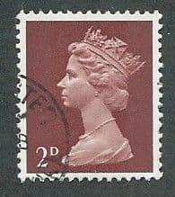 1967 2d 'LAKE BROWN (TYPE I)' FINE USED