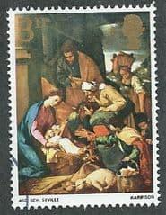 1967 3d 'CHRISTMAS -PAINTINGS ' FINE USED