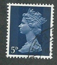 1967 5d 'ROYAL BLUE' FINE USED